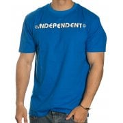 Camiseta Independent: Bar Cross Royal BL