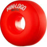 Mini Logo Skateboards Ruedas Mini-Logo Skateboards: C-Cut Red (53 mm)