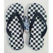 Chanclas Vans: Keel Checkerboards BK/WH