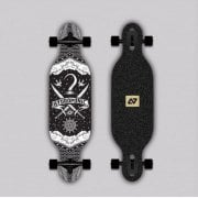 Longboard Completo Hydroponic: Kids Drop-Through PIRATE BK (Carving)31.5 x 8.5
