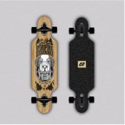 Longboard Completo Hydroponic: Kids Drop-Through BERNI (Carving)31.5 x 8.25