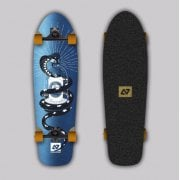 Surfskate Completo Hydroponic: Polar Metal Tattoo Surf Skate 31 x 9