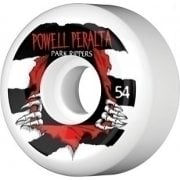 Ruedas Powell Peralta: Park Ripper White (54 mm)