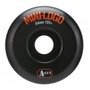 Mini Logo Skateboards Ruedas Mini-Logo Skateboards: A-Cut Black (53 mm / 101A)