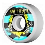 Ruedas Powell Peralta: Park Ripper White 2 PF (56 mm)