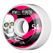 Ruedas Powell Peralta: Ripper 4 White (54 mm)
