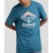 Camiseta Element: Layer SS Blue Steel BL