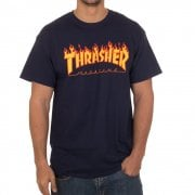 Camiseta Thrasher: Flame Logo NV
