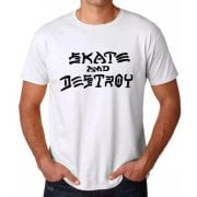 Camiseta Thrasher: Skate and Destroy WH