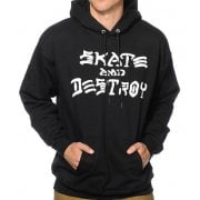 Sudadera Thrasher: Skate and Destroy Hood BK