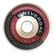 Ruedas Universal: Metallic 2 (55 mm)