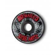 Ruedas BDSkateCO: Stole Army Black (54 mm)
