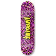 Tabla Imagine Skateboards: Leopard 8.1