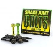 "Tornillos Shake Junt: Bag o' Bolts 1 Green, 1 Yellow 1"" Allen"
