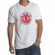 Camiseta Element: Seal SS Optic WH