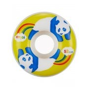 Ruedas Enjoi: Rainbow Fart 100A (52mm)