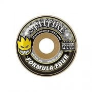 Ruedas Spitfire: F4 99 Conical Yellow Print (54 mm)