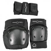 Set Protecciones Pro-Tec: Street Gear Junior 3 Pack Black