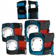 Set Protecciones DNA: Blue Knee & Elbow KIDS Pack BL