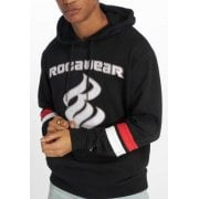 Sudadera Rocawear: Albion Hoody BK/RD/WH