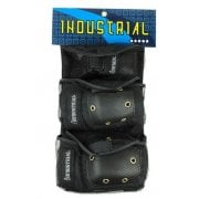 Set Protecciones Industrial: Pad Set 3 in 1 Black