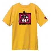 Camiseta New Deal: Original Napkin Logo SS Gold