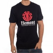 Camiseta Element: Vertical SS Flint BK