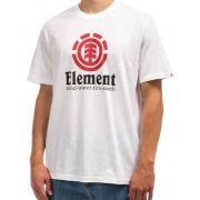 Camiseta Element: Vertical SS Optic WH
