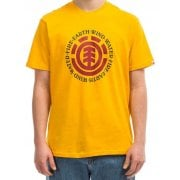 Camiseta Element: Seal SS Gold YL