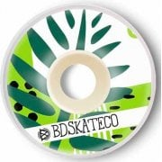 Ruedas BDSkateCO: Leaves #1 (53 mm)