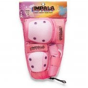 Set Protecciones Impala Junior: Protective Set Youth Pink