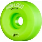 Mini Logo Skateboards Ruedas Mini-Logo Skateboards: A-Cut Green (54 mm / 101A)