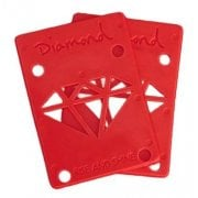 Diamond Supply Co Alzas Diamond: Rise & Shine Risers Red