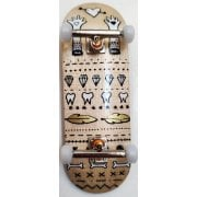 Completo Fingerboard BerlinWood: En Voyage metallic glove hearts Set Wide 32mm