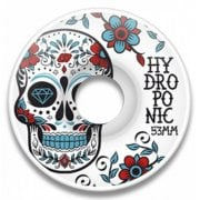 Ruedas Hydroponic: Mexican Skull Turquoise (53mm)
