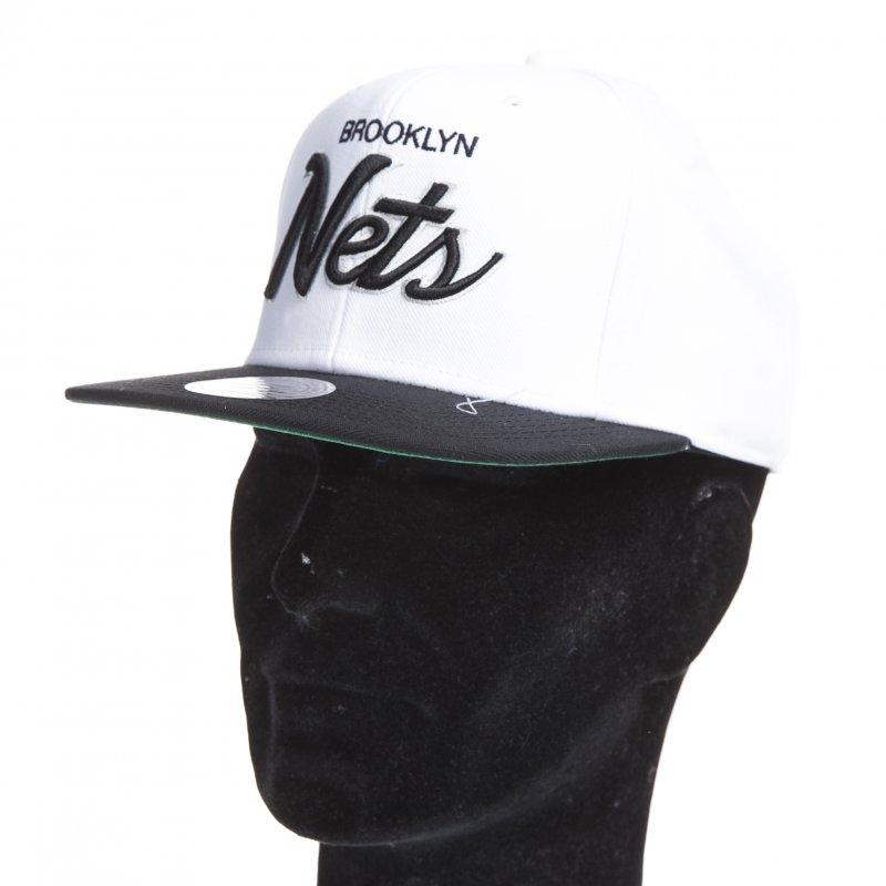 0123bb408870e Gorra Mitchell   Ness  Brooklyn Nets WH BK