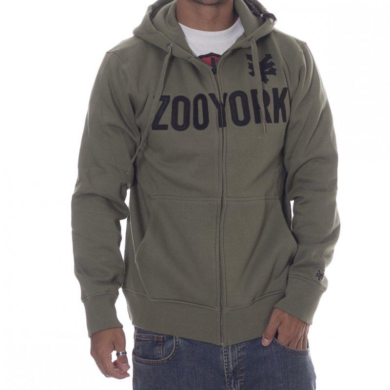 Para estrenar 88fdf 63a16 Sudadera Zoo York: Straight Core Mk2 GN | Comprar online ...