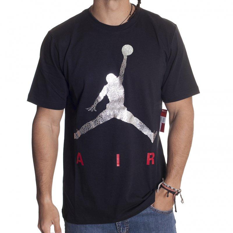 Camiseta Jordan  Jordan jumpman Air BK  4f010d44cb807