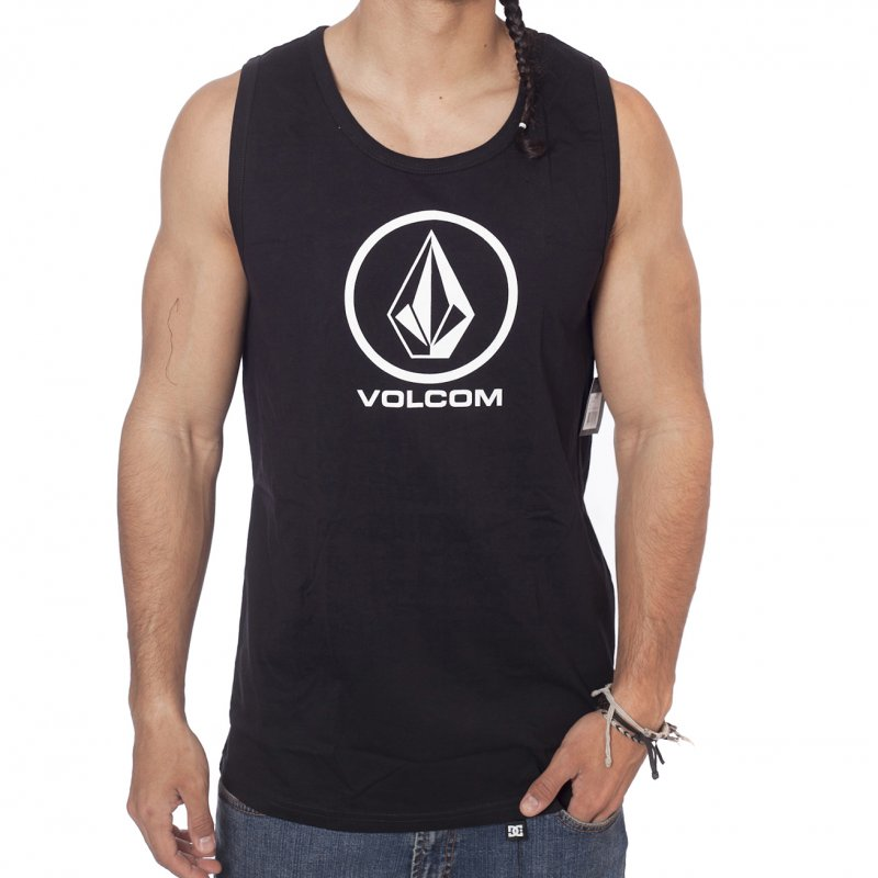 8e0709e7f2 Camiseta sin mangas Volcom  Circle Staple Tank Top BK