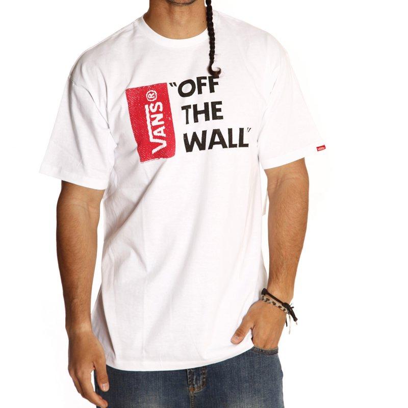 Camiseta Vans: Off The Wall WH   Comprar online   Tienda Fillow