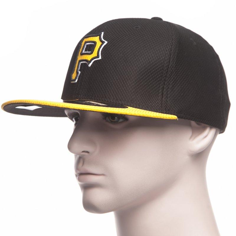 Gorra New Era  Diamond Era Pittsburgh Pirates BK YL  65ca696488f