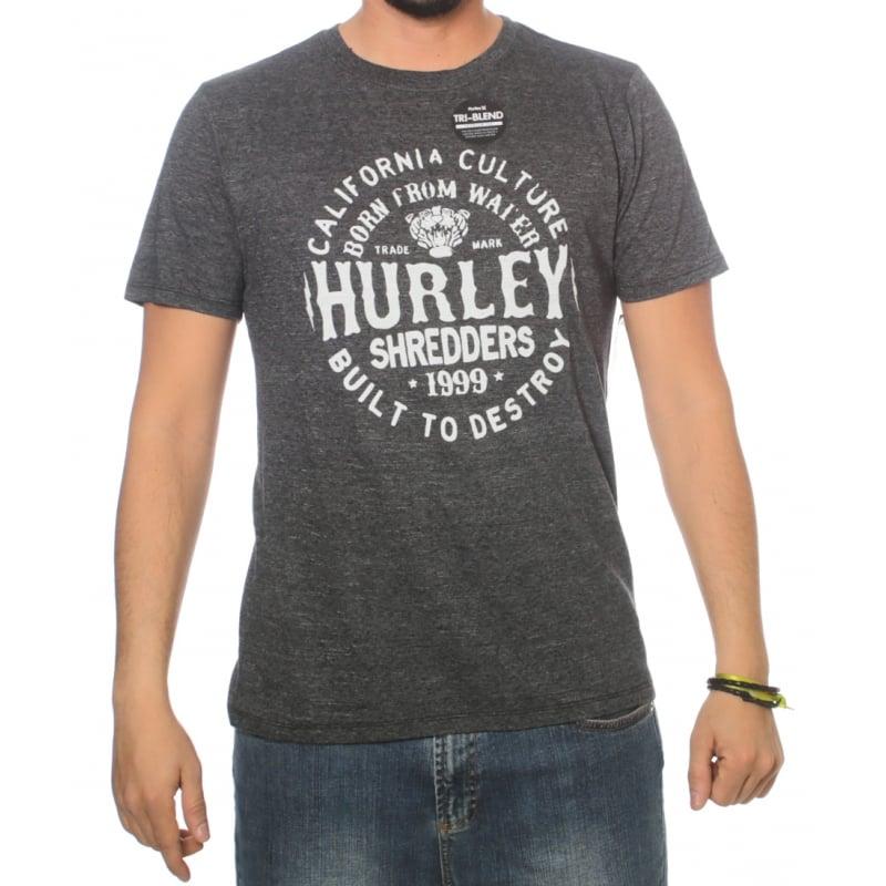 64a94f6f72 Camiseta Hurley  Cylindrical Tri-Blend GR