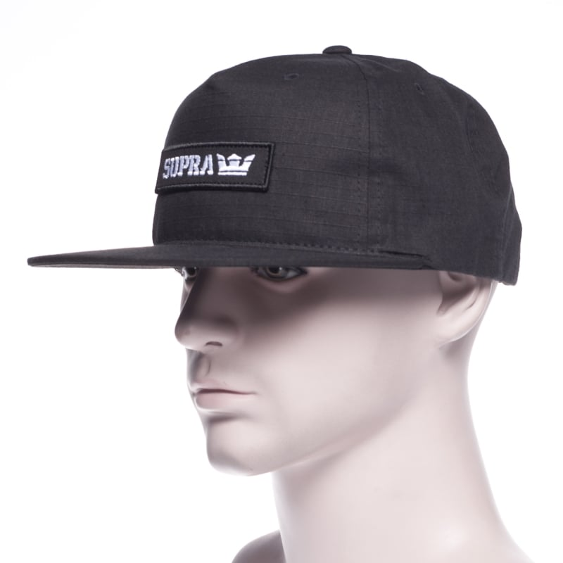 Gorra Supra  Mark Patch Snap Black BK  c9c6fe36664