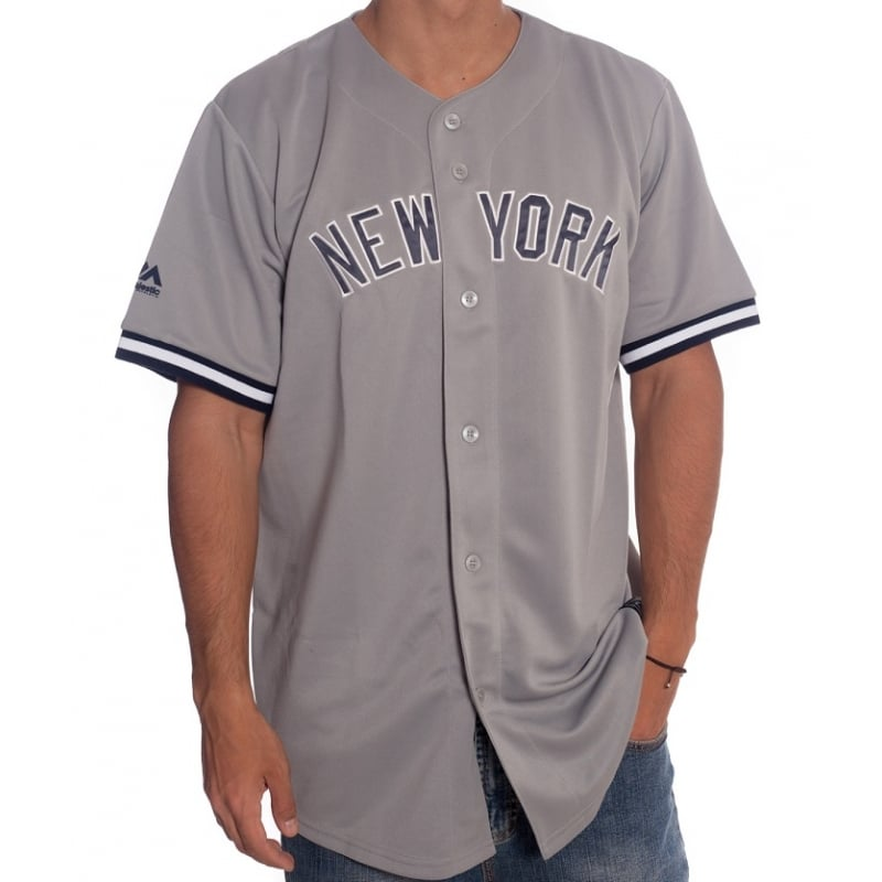 Camisa MLB Majestic  New York Yankees GR  51c862c8229