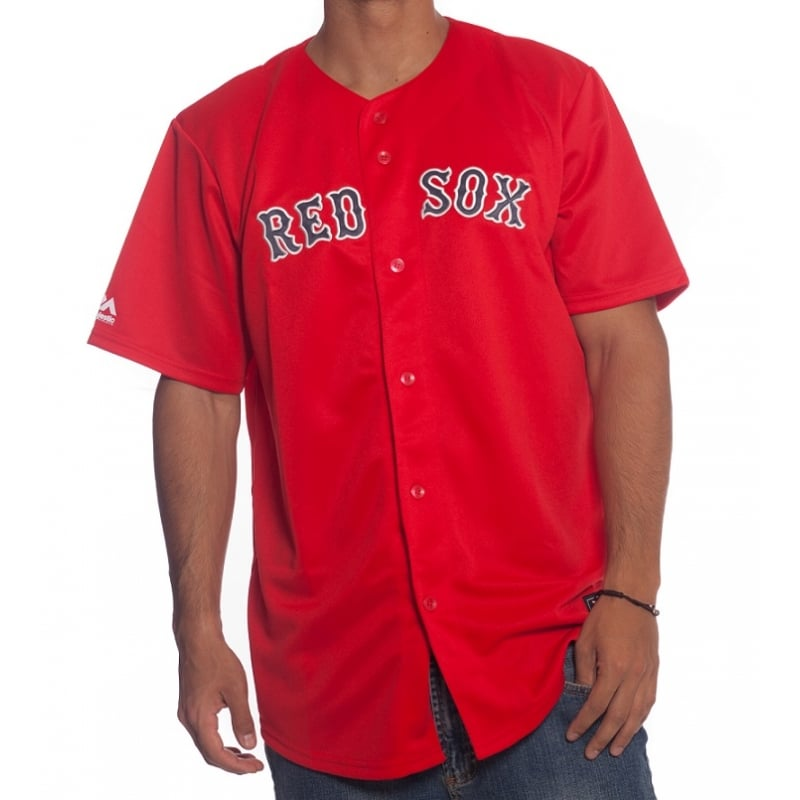 a776ca65dae Camisa MLB Majestic  Boston Red Sox RD