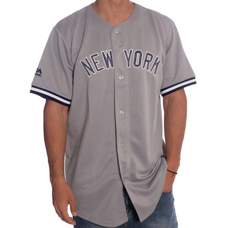 Mlb Gr Camisa Majestic Yankees New York Z77zOdn8q
