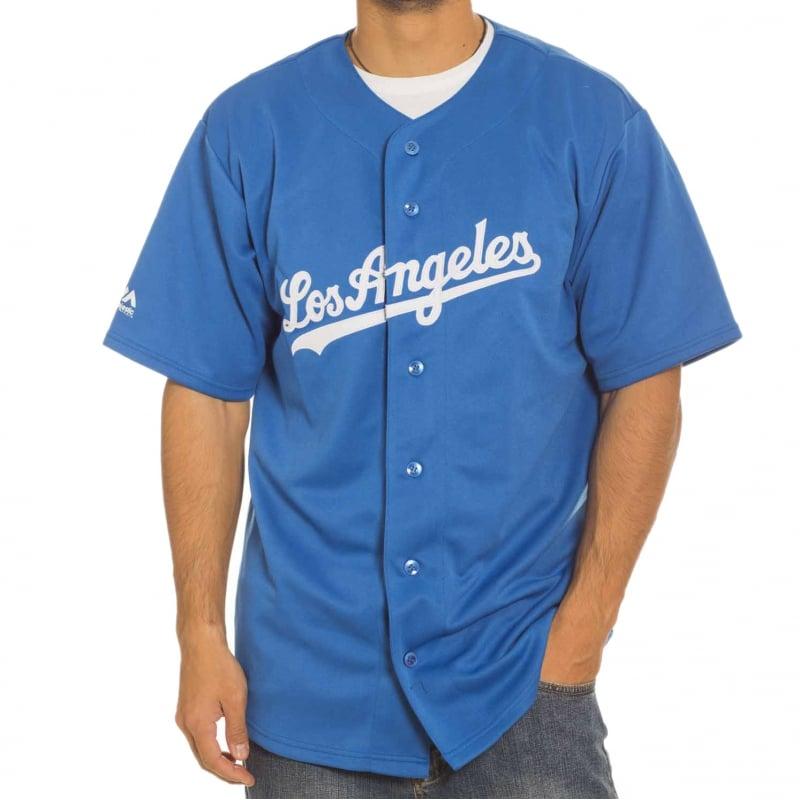 Camisa Majestic  MLB Replica Jersey LA Dodgers BL  14caab2194c0f
